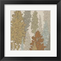 Framed Meadow Blooms I