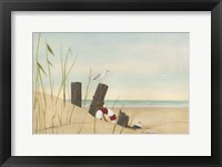 Framed Seaside Dunes I
