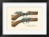 Framed Antique Pistol I