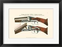 Framed Antique Pistol II