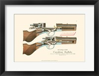 Framed Antique Pistol III