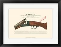 Framed Antique Pistol IV