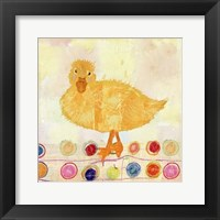 Framed Polka Dot Duck