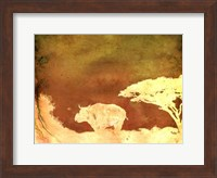 Framed Safari Sunrise II
