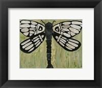 Framed Dragonfly Text