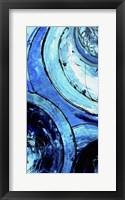 Blue Moons II Framed Print