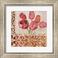 Framed Portrait of Tulips