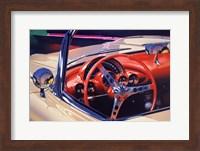 Framed '58 Corvette