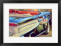 Framed '58 Ford Edsel