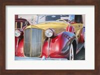 Framed '38 Packard Phaeton Body