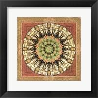 Framed Floress Mandala II