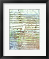 Beach Reflections I Framed Print