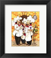 Framed Wine Chefs
