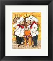 Framed Soup Chefs