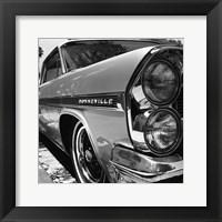 Framed '63 Bonneville