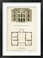 Framed Design for a Building II
