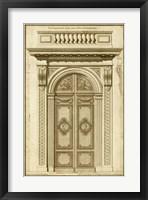 Framed Vintage Door I