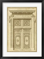 Vintage Door II Framed Print