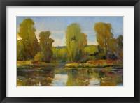 Monet's Water Lily Pond I Framed Print