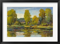 Monet's Water Lily Pond II Framed Print