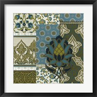 Persian Patchwork II Framed Print