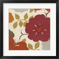 Hibiscus Fresco IV Framed Print