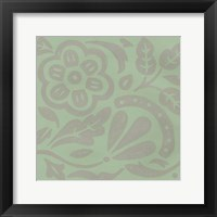 Ginter Mint II Framed Print