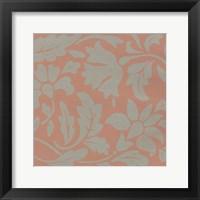 Ginter Coral I Framed Print