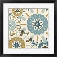 Blue Lace II Framed Print