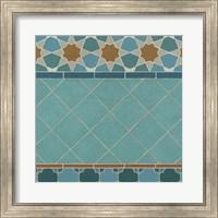 Framed Moroccan Tile I