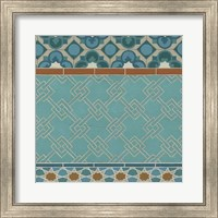 Framed Moroccan Tile II