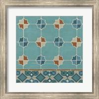 Framed Moroccan Tile III