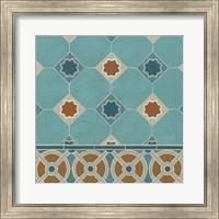 Framed Moroccan Tile IV