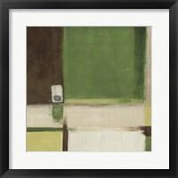 Framed Green Field II