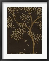 Framed Gilded Bough I