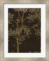Framed Gilded Bough II