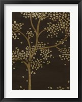 Framed Gilded Bough II