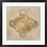 Solar Medallion II Framed Print