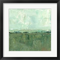 Vista Impression I Framed Print