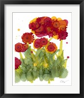 Framed Poppy Whimsy IV