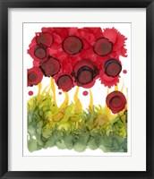 Framed Poppy Whimsy VI