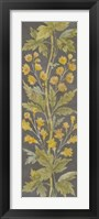 June Floral Panel II Framed Print