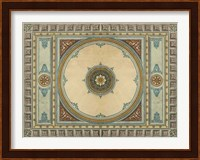 Framed Design for a Ceiling