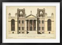 Elevation for a New Design II Framed Print