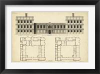 Framed Elevation & Plan for Castle Abby