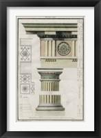 Framed Doric Order
