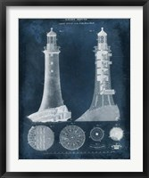 Framed Lighthouse Blueprint