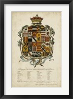 Framed Edmondson Heraldry II