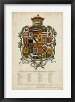 Framed Edmondson Heraldry II