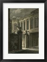 Framed Crosby Hall, London